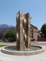 GENERATIONS University of Southern California [Bronze fountain 21' h]